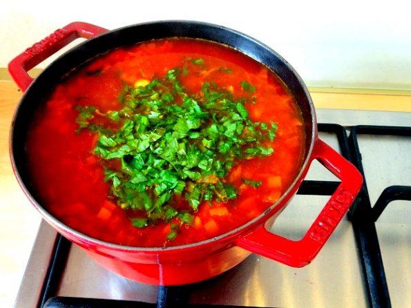 cuisine moldave bortsch recette
