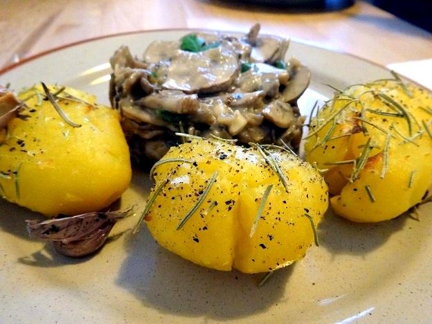 Cuisine moldave champignons à la crème