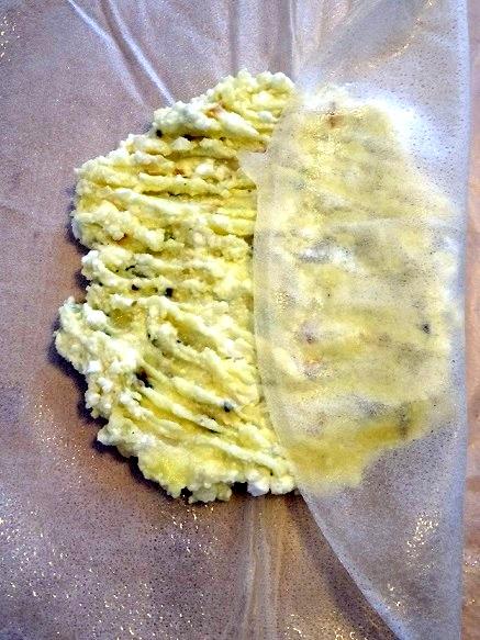 feuille de brick recette
