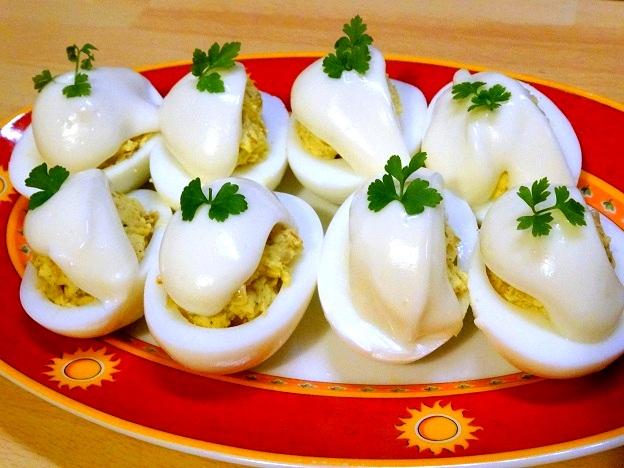 Cuisine moldave oeufs mimosa à la russe recette pas a pas