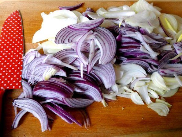 Tarte oignon ingredients recette