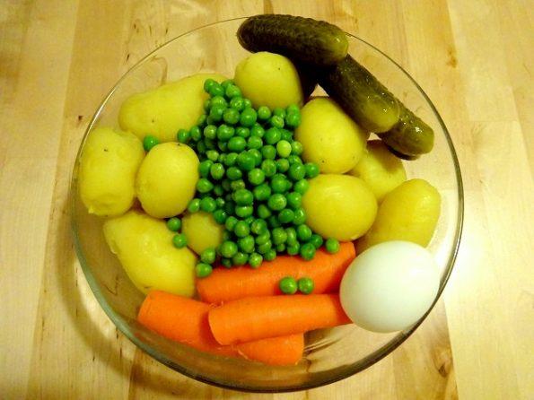 salade Olivier recette