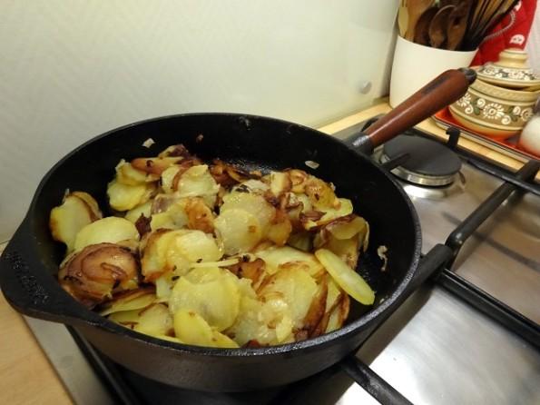 Cuisine moldave pomme de terre