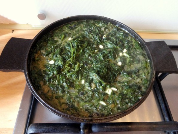 Cuisine moldave épinards façon orties