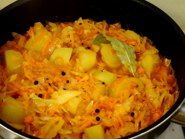 recette moldave kapusniak végétarien