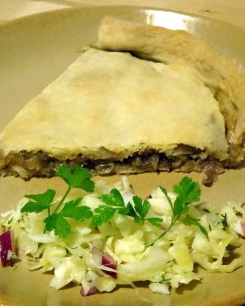 Cuisine moldave tarte au chou