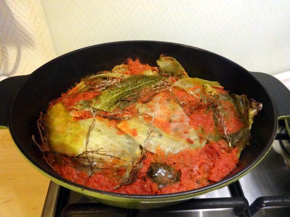 cuisine moldave recette de feuilles de vigne farcies