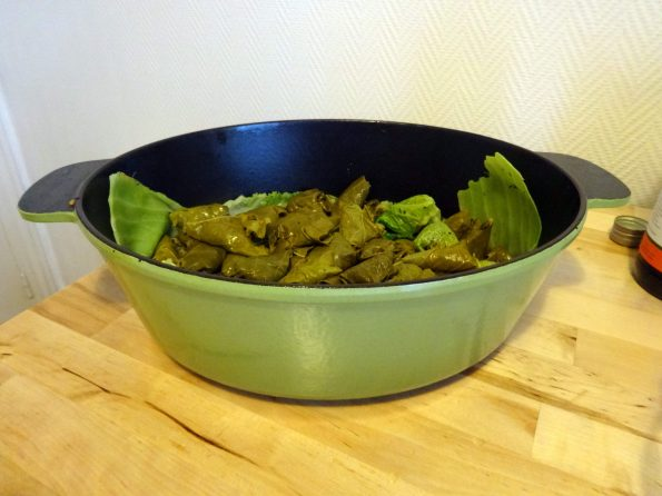 recette végétarienne feuille de chou
