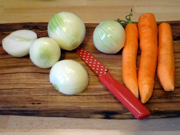 ingredient chou farci végétarien